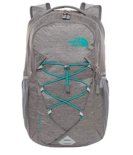 The north face, jester, zaino, unisex adulto, verde (zinc grey light heather/kokomo green), taglia unica