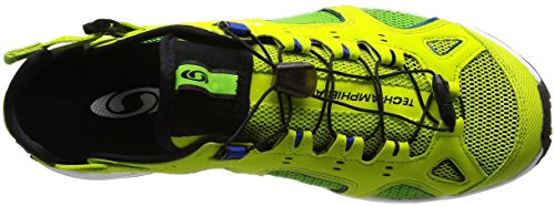 Salomon Outdoor Schuhe Techamphibian 3 lime punch-green flash-surf the web (393461)