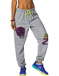 Zumba Fitness Dance Is Love Pantalon de jogging Femme Back to