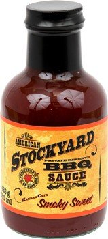 Stockyard - Kansas City Smoky Sweet BBQ Sauce - 350ml