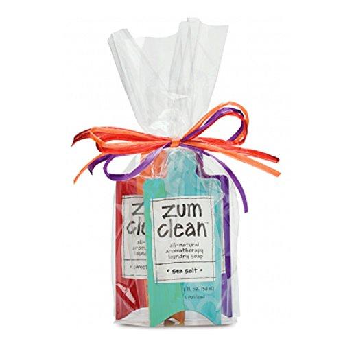 Indigo Wild Zum Clean Aromatherapy Laundry Soap Scent Sampler - 3 Count