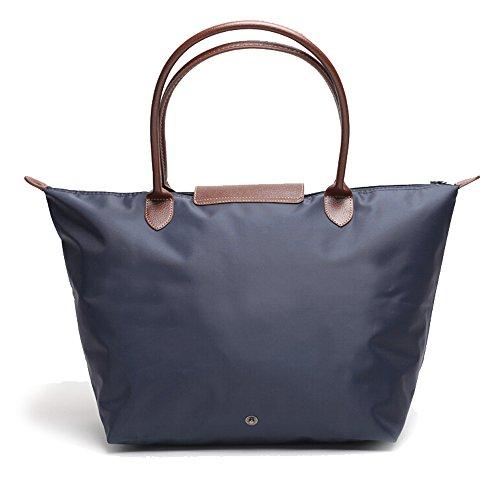 womens-tote-nylon-shoulder-bag-designer-durable-handbag-tote-nylon-royal-blue
