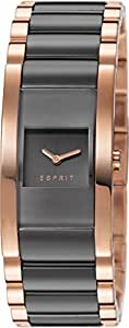 Esprit Glaze Remix Women's Quartz Watch with Grey Dial Analogue Display and Rose Gold