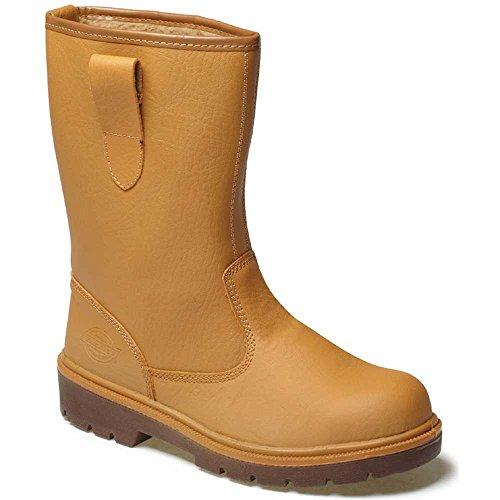 Dickies  Fur Lined Rigger, Chaussures de sécurité homme, Beige (tan), 5.5 UK, 39 EU Beige