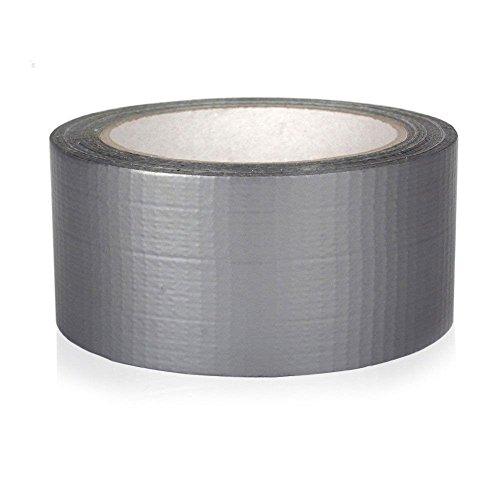 takestop® amerikanischen grau Gewebeband robust 50mm x 20MT extrastarkem Wasserdicht versiegelt repariert imballa
