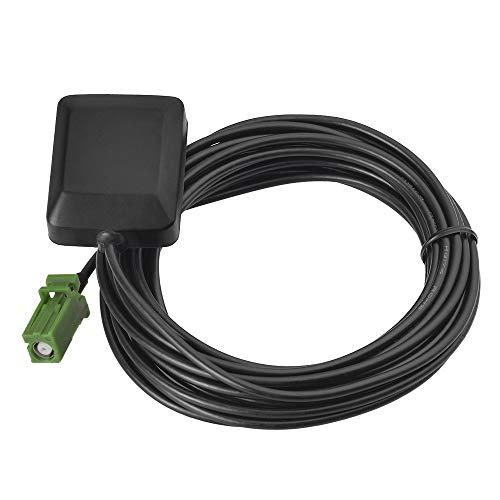 Eightwood GPS Aktiv antenne mit grünem AVIC Anschluss 3m langes Kabel für Pioneer Navigationsempfänger MEHRWEG