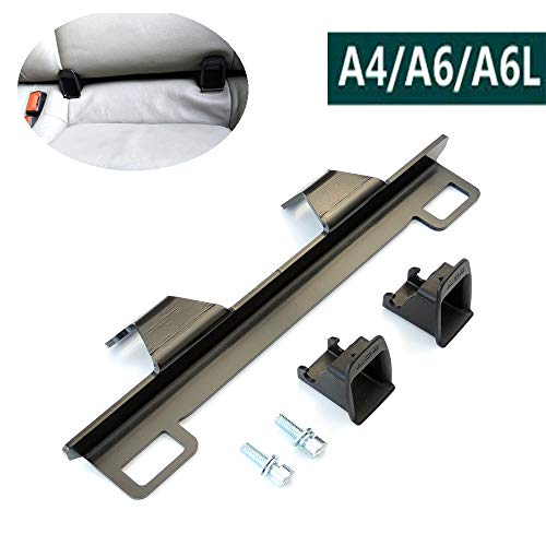 Kit di fissaggio di ancoraggio per seggiolino auto per bambini, per connettore a cintura ISOFIX, per A-UDI A4/A6/A6L