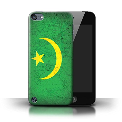 Stuff4 Hülle / Case für Apple iPhone 6 / Senegal/Senegalese Muster / Afrika Flagge Kollektion Mauretanien