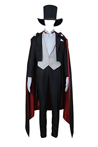 me Tuxedo Mask Chiba Mamoru Outfit Set V1 (Tuxedo Mask Halloween)