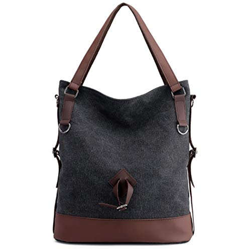 Barlingrock Women Wild Messenger Bag Casual Sac à bandoulière Retro Bucket Bag Sacs à main pour femme Sac à bandoulière Messenger Sac à bandoulière rétro pour femme Sacs à main pour femme