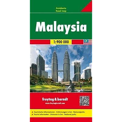 Malaysia 1:900.000: Wegenkaart 1:900 000