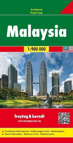 Malaysia, Autokarte 1:900.000: Wegenkaart 1:900 000 (freytag & berndt Auto + Freizeitkarten)