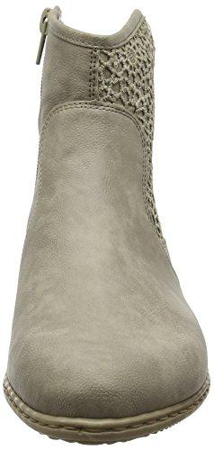 Rieker Y0735, Bottes Classiques Femme Gris (elefant/Bisonte / 42)