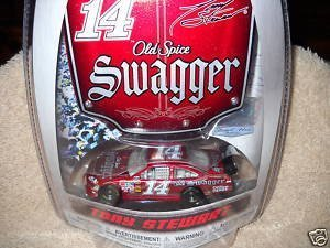 tony-stewart-14-swagger-old-spice-office-depot-1-64-scale-bonus-magnet-1-24-scale-hood-winners-circl