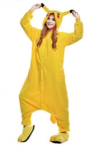 Australia mama adulto anime kigurumi pigiama costume attrezzatura cosplay halloween (m (altezza: 162cm - 171cm), pikachu)