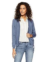 Monte Carlo Womens Wool Cardigan (1170710VN-1513_Blue_40)