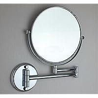 Ottone pieno supporto per montaggio a parete a specchio per