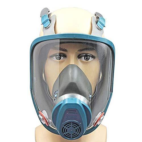 MOXIN Profi Maske Aktivkohle- Lackiermaske Atemschutzmaske Anti-Staub Pestizide Formaldehyd Farblack,Green