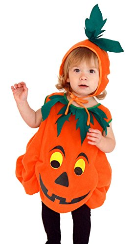 EOZY Baby Kinder Halloween Kürbis Kostüm Karneval Fasching Kostüme Cosplay Bekleidung Körpergröße 95-110cm