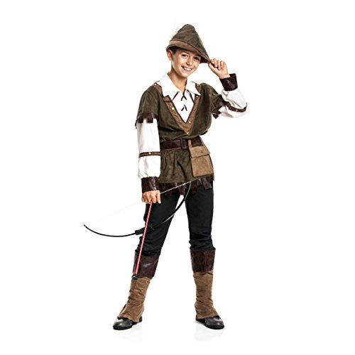 Kostümplanet® Robin Hood Kostüm Kinder Jungen Kinder-Kostüm Größe ()
