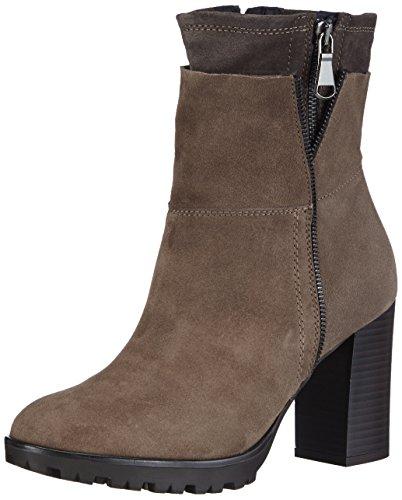 Tosca Blu Shoes STICK Damen Kurzschaft Stiefel Braun (C70)