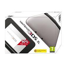 Nintendo Handheld Console 3DS XL - Silver/Black (Nintendo 3DS)