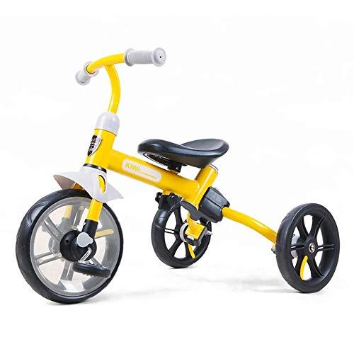 XINCH Lauflernhilfe, 2 In 1 Kinder Dreirad Kinder Balance Bikes Kinder Pedal Fahrrad 2-5Years Old Multifunktions Kinderwagen Jungen Mädchen Spielzeugauto -