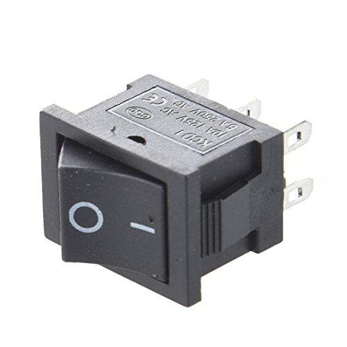 Interruptor - SODIALR 10pzs AC 6A/250V 10A/125V 6