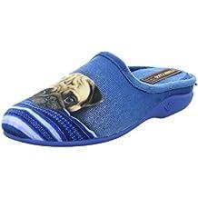 Francesca Damen Hausschuhe/Pantoffeln Größe 41 Blau (Blau) nxXCsK8xW