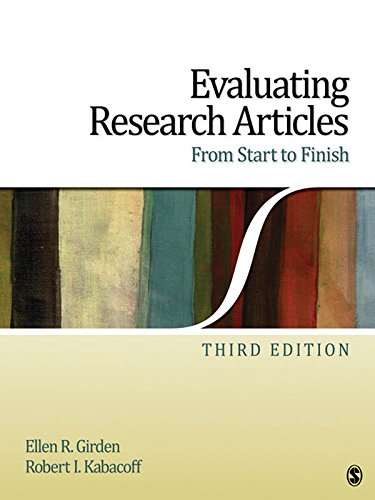 Evaluating Research Articles From Start to Finish: Volume 3