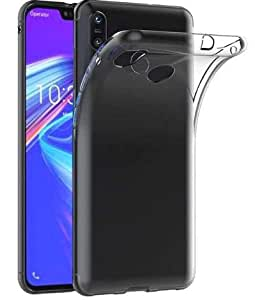 Jump Start Crystal Clear Back Case Cover TPU Bumper Cushion Anti-Scratch Silicone Transparent Cover for Asus Zenfone Max Pro M2