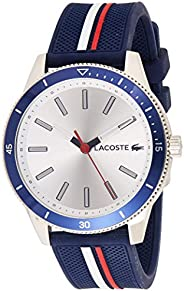 Lacoste Key West Men's Silver Dial Silicone Band Watch - 201