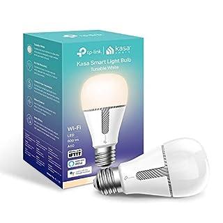 TP-Link KL120 Kasa Smart WLAN Glühbirne, E27, 10W, funktioniert mit Amazon Alexa(Echo und Echo Dot), Google Home und IFTTT, alle Schattierungen von Weiß, dimmbar