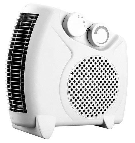 ROYAL Premium Fan Heater Heat Blow || Silent Fan Room Heater (White)
