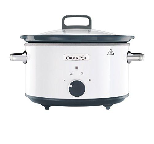 Crock-Pot CSC030X weißer Schongarer 3,5 L