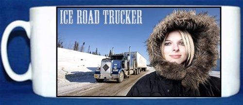 Lisa Kelly–Ice Road Trucker–Keramik Foto Tasse