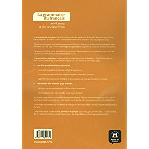 La grammaire du français en 44 leçons et plus de 220 activités. Niveau A2 (Fle- Texto Frances)