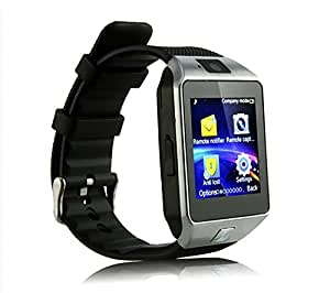 JIKRA Bluetooth Smart Wrist Phone Watch Compatible With Samsung Galaxy Beam2 With Camera & Sim Card support