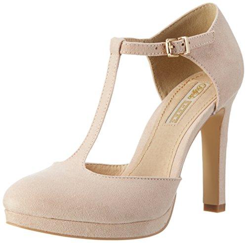 Buffalo Shoes H748a-3, Scarpe col Tacco con Cinturino a T Donna, Rosa (Pink 34 000), 39 EU