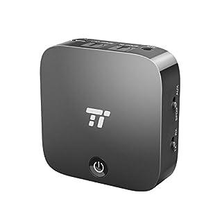 Bluetooth Adapter TaoTronics Transmitter und Empfänger 2-in-1 Bluetooth 5.0, digitales optisches Audiokabel TOSLINK und 3,5 mm Audiostecker, aptX, geringe Verzögerung, Cinchstecker (B00Y2OV9IW) | Amazon price tracker / tracking, Amazon price history charts, Amazon price watches, Amazon price drop alerts