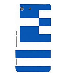 printtech Lines Pattern Abstract Back Case Cover for Sony Xperia M5 Dual E5633 E5643 E5663:: Sony Xperia M5 E5603 E5606 E5653