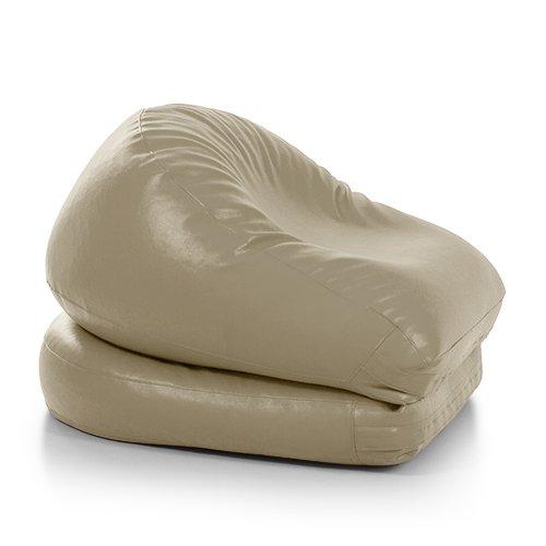 pouf-letto-jazz-ecopelle-classica-beige-chiaro-imbottito-avalon