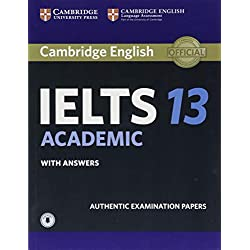 Cambridge IELTS 13 Academic Student's Book with Answers with Audio: Authentic Examination Papers (IELTS Practice Tests)