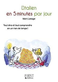 Petit Livre de - Italien en 5 minutes par jour par [LESAGE, Marc]