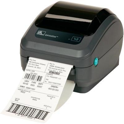 Zebra GK42-202520-000 DT Printer Gk420D, 203 Dpi