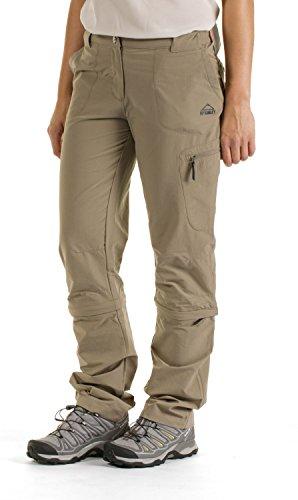 McKinley–Outdoor femme abzipphose Pantalon randonnée mendoran - Olive