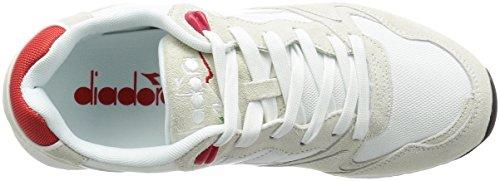diadora V7000 NYL II Schuhe Herren Sneaker Turnschuhe Pink 501.170939 01 C6309 Bianco / Rosso Ferrari Italia
