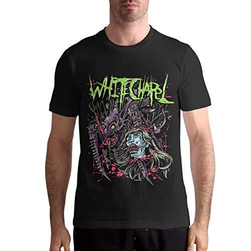 Quitelike Whitechapel T Shirt Men's Short-Sleeved Shirt Round Neck Cotton Tee Tops Männer T-Shirts Whitechapel T-shirts