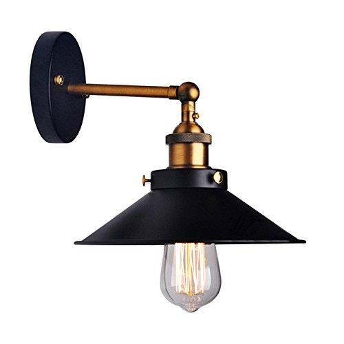 Lemonbest Industrial Vintage Loft lámpara pared