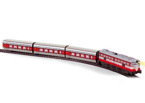 PEQUETREN Pequetren508 Classic Articulated Talgo Metallic Model Train  with Light